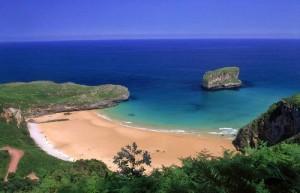 Ballota Beach Asturias Spain