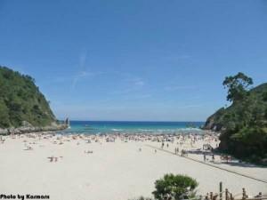 La Franca Beach Asturias