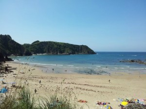 Pechon Beach Cantabria Spain