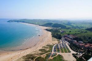 San Vicente de la Barquera Beach Cantabria Spain
