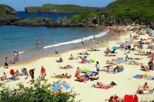 barro beach asturias spain
