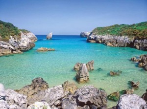 Buelna Beach Asturias Spain