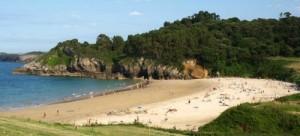 niembro beach asturias spain