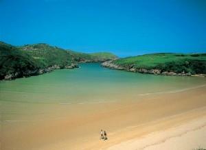 poo beach asturias spain