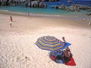 toro beach asturias spain